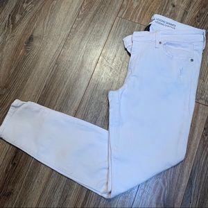 Light Pink Gap Skinny Jeans